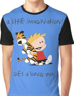 Calvin and Hobbes Little Imagine Graphic T-Shirt