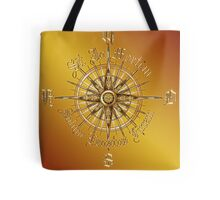"PC Gamer's Compass - ""Death is Only the End of the Game"" Tote Bag"