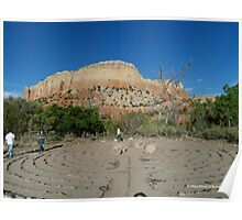 Labyrinth at Ghost Ranch Poster