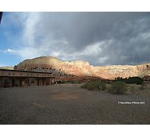 Ghost Ranch Rooms with a View Photographic Print