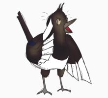Obstinate Magpie by simonindelicate