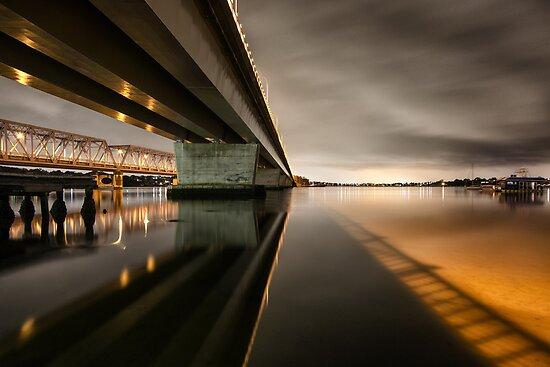 Twin Bridges by David Haworth