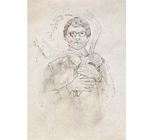 Will Graham portrait / sketch Photographic Print
