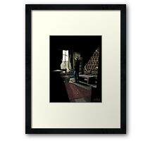 To Build A Home - Coloured Version Framed Print