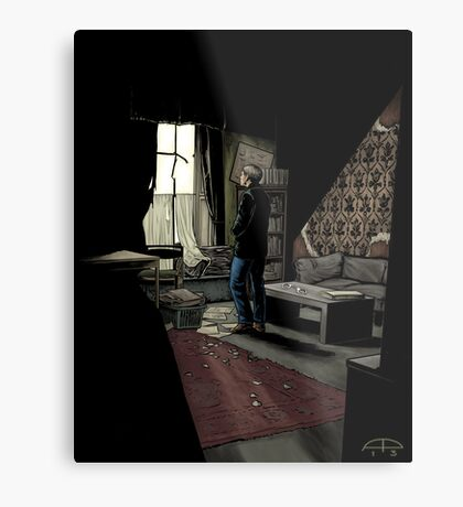 To Build A Home - Coloured Version Metal Print