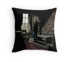 To Build A Home - Coloured Version Throw Pillow