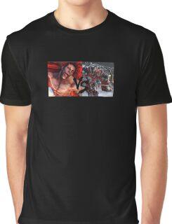 Necalli Vs Gigas Graphic T-Shirt