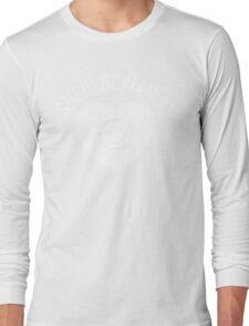 SHERLOCK FAN SHERLOCKIAN AT HEART - WHITE TEXT Long Sleeve T-Shirt