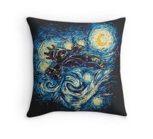 Starry Flight Throw Pillow