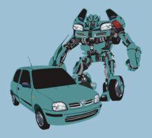 Nissan Micra Transformer by MrTWilson