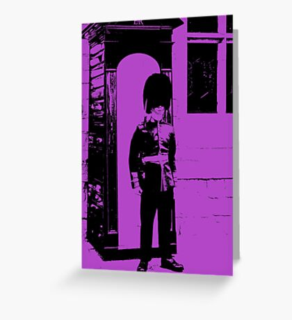 God Save the Queen. Greeting Card
