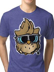 Colored Owl Tri-blend T-Shirt