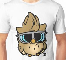 Colored Owl Unisex T-Shirt