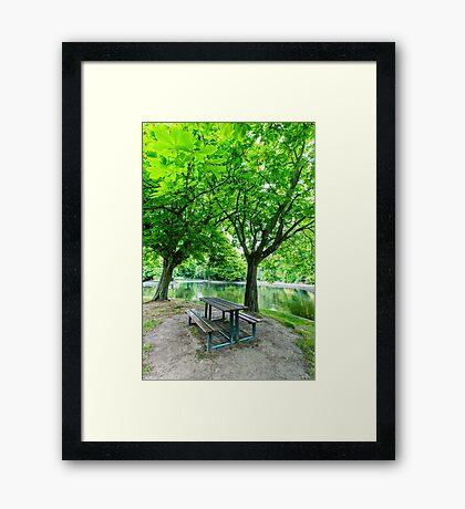 Herbert Park, Dublin, Ireland Framed Print