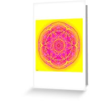 Mandala We are Surrounded by Eternity Greeting Card