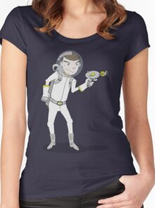 "Captain Ike ""Lazer"" Beem Women's Fitted Scoop T-Shirt"