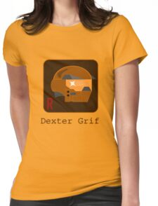 Dexter Grif Womens Fitted T-Shirt
