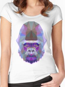 Gorilla Animals Gift Women's Fitted Scoop T-Shirt