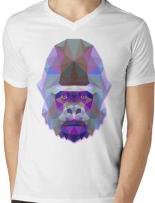 Gorilla Animals Gift Mens V-Neck T-Shirt