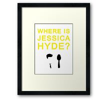 Jessica Hyde Framed Print