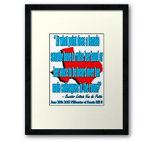 A Woman's Voice 4 Framed Print