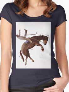 COWBOY Women's Fitted Scoop T-Shirt