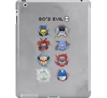 80's Evil iPad Case/Skin