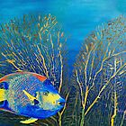 Queenie - Ocean Series Tropical Fish by Scott Plaster
