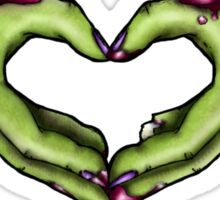 Zombie Love - Girls Sticker