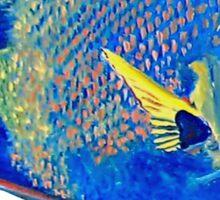 Queenie - Ocean Series Tropical Fish Sticker