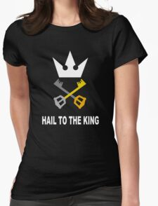 Kingdom Hearts - Hail To The King Womens Fitted T-Shirt