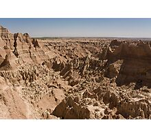 Badlands National Park from the Window Trail Photographic Print