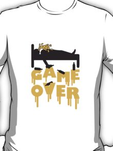 Drunk Sleep Game Over T-Shirt