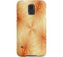 Orange Math Art Samsung Galaxy Case/Skin