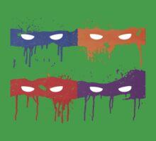Teenage Graffiti Masks by bencriss
