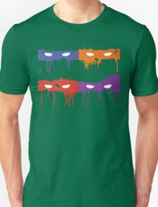 Teenage Graffiti Masks T-Shirt
