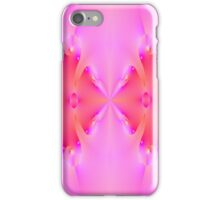Pink Fractal Math Art  iPhone Case/Skin