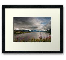 Scotland's Landscape Framed Print