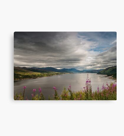 Scotland's Landscape Canvas Print