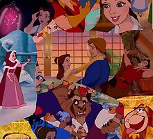 beauty and the beast collage by emilyg23