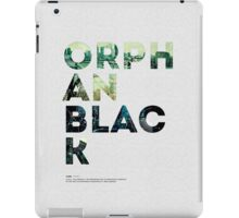 Orphan Black iPad Case/Skin