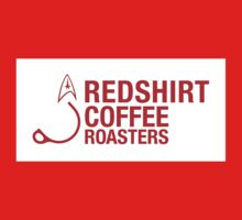 Redshirt Coffee Roasters (Red On white) Kids Clothes