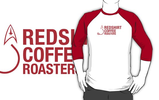 Redshirt Coffee Roasters (Red On white) by sflassen