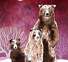 Three bears by Susan Craig