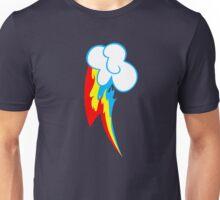 Rainbow Dash Fire Cutie Mark Unisex T-Shirt