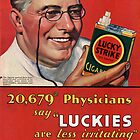 "Physicians say ""Luckies are less irritating"" by CircaWhat"