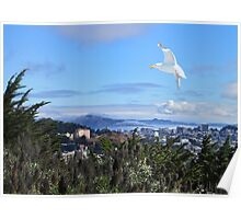 San Francisco from Diamond Heights Poster