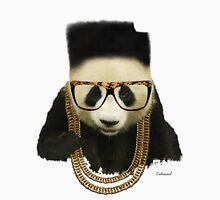 The Freshest Panda Mens V-Neck T-Shirt