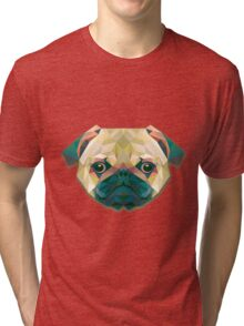 Dog Animals Gift Tri-blend T-Shirt