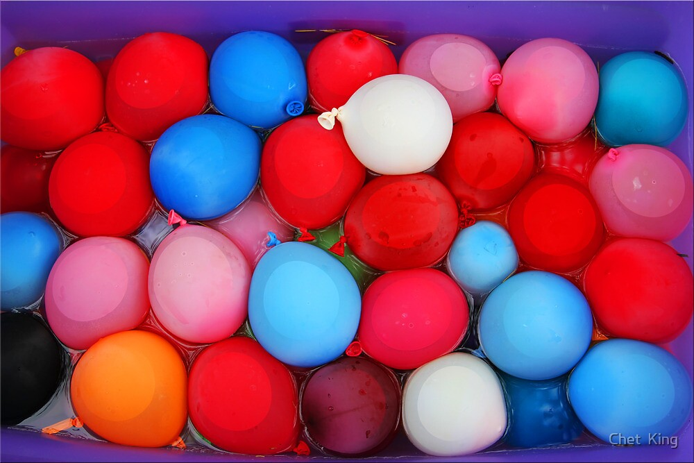 Water Balloons by Chet  King